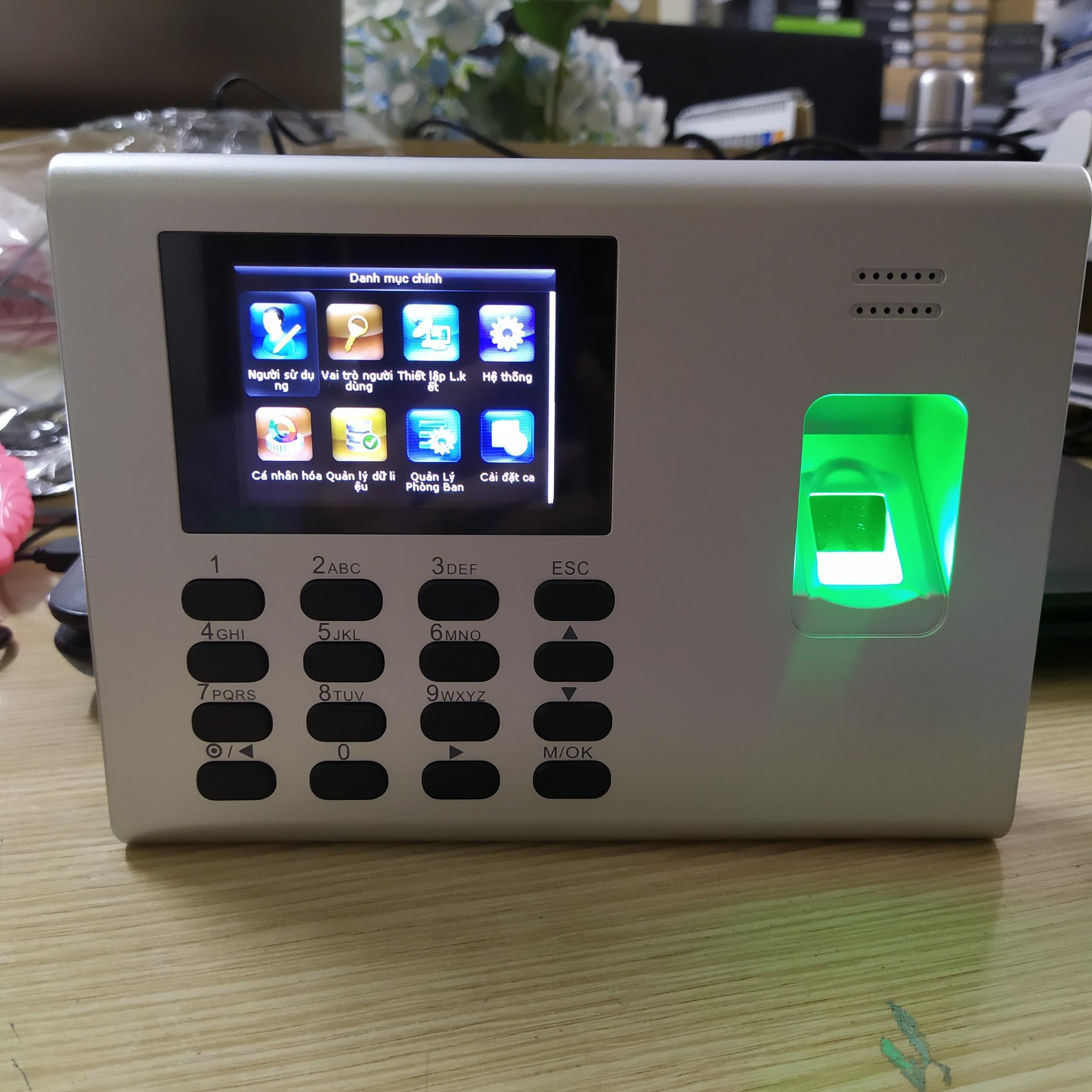 Máy Chấm Công Vân Tay PIN DG600