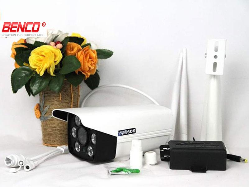 Đóng gói camera yoosee 2 râu wifi