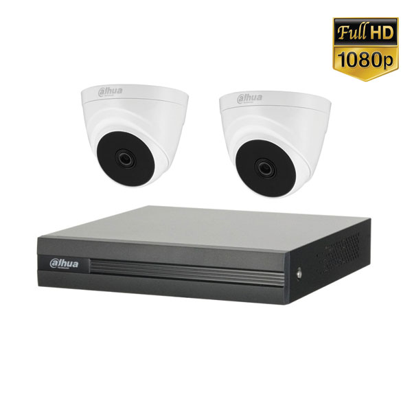 Lắp Đặt Trọn Bộ 2 Mắt Camera Dahua Full HD BEN-02DA Giá Rẻ
