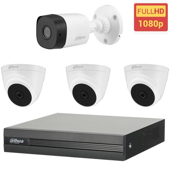 Lắp đặt trọn bộ 4 mắt camera Dahua BEN-2040DH Full HD giá rẻ
