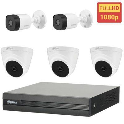 Lắp Đặt Trọn Bộ 5 Camera Dahua BEN-5020DH Full HD