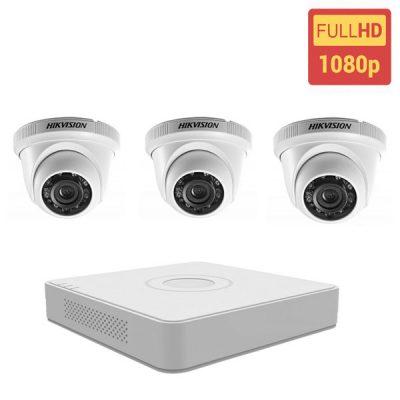 Giá Trọn Bộ 3 Mắt Camera Hikvision 1.0 BEN-3010HK Gồm Như Sau: