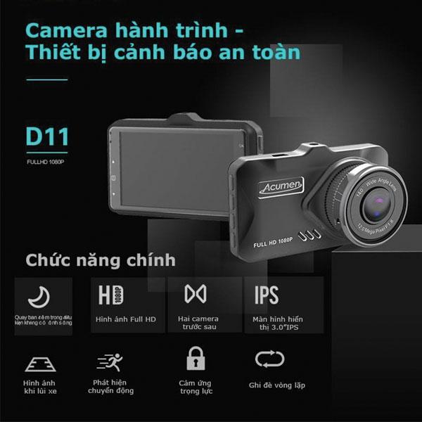 Camera Hành Trình Acumen D11