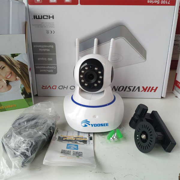 Camera Yoosee 3 Râu - Chính Hãng - Giá Chỉ 420K