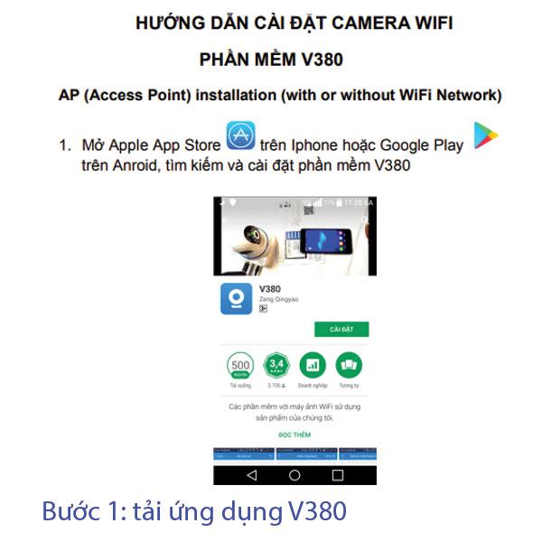 Hướng dẫn cài đặt camera mini wifi