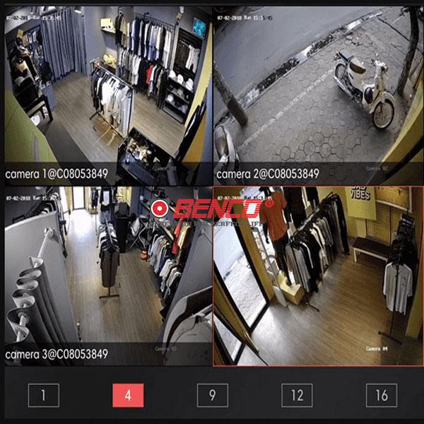 công trình thực tế Lắp Đặt Trọn Bộ 8 Mắt Camera Dahua 2.0 BEN-8020DH Giá Rẻ