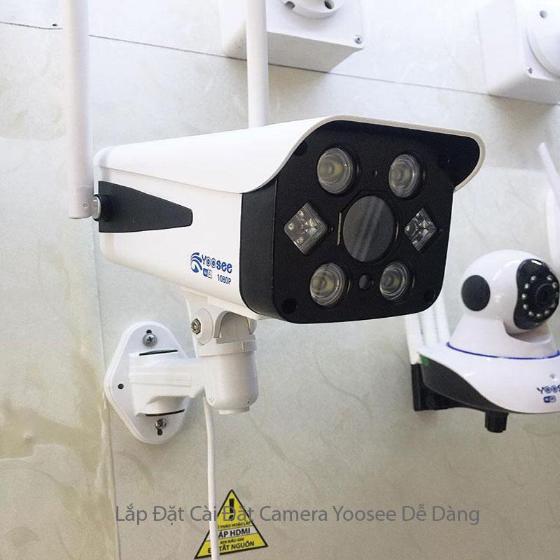 7 Bước Cài Đặt Camera Yoosee Ngoài Trời Wifi