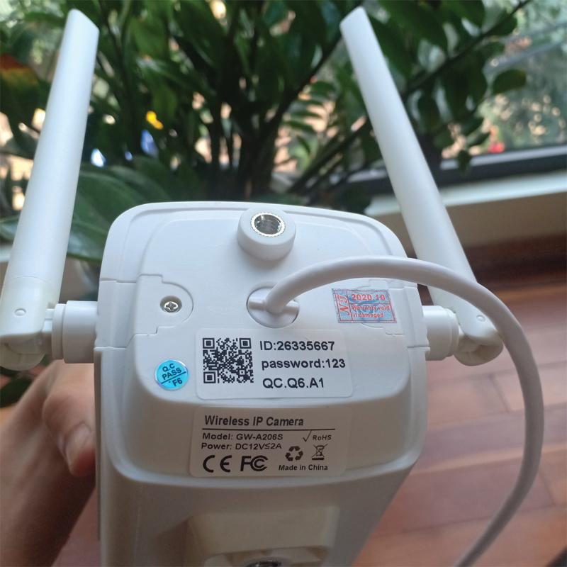 Các bước cài đặt camera yoosee wifi ngoài trời