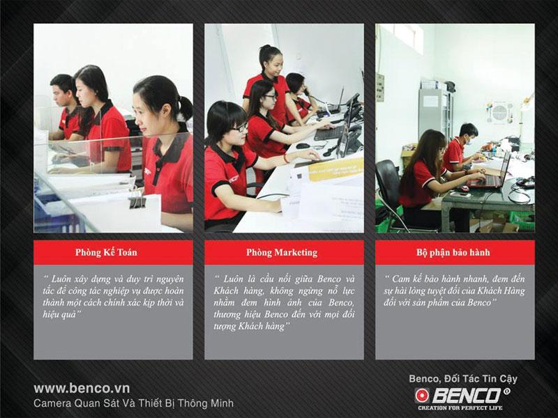 Đội ngũ hỗ trợ kinh doanh BEnco.vn