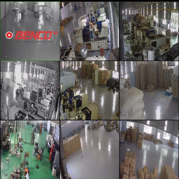 Hình ảnh lắp đặt thực tế bộ 8 camera dahua 2.0