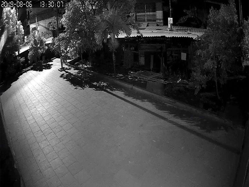 Hình ảnh ban đêm của camera