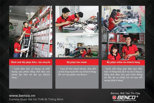 Đội ngũ bán hàng Benco