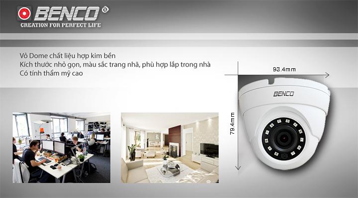 Quy trình quản sản xuất camera tại Benco Việt Nam