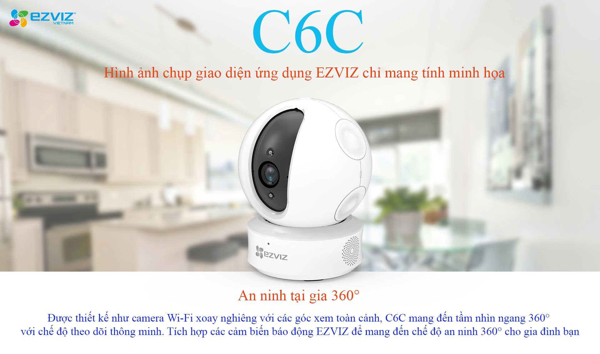Camera Ezviz cs cv246 C6C