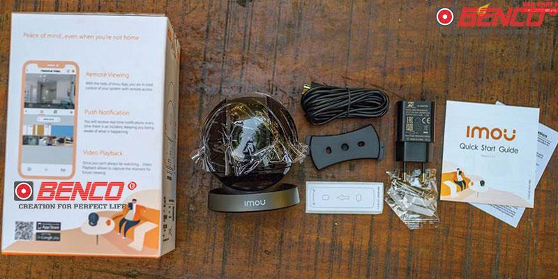 Đóng gói sản phẩm camera Imou Imou IPC-A26HP