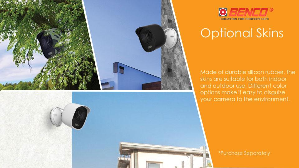 Khả năng lắp đặt ngụy trang của Camera Thân Đàm Thoại 2 Chiều IPC-C26EP