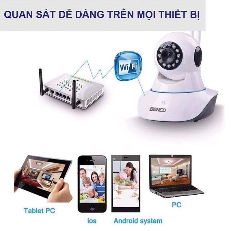 Tính năng thông số camera wifi ben-910IP