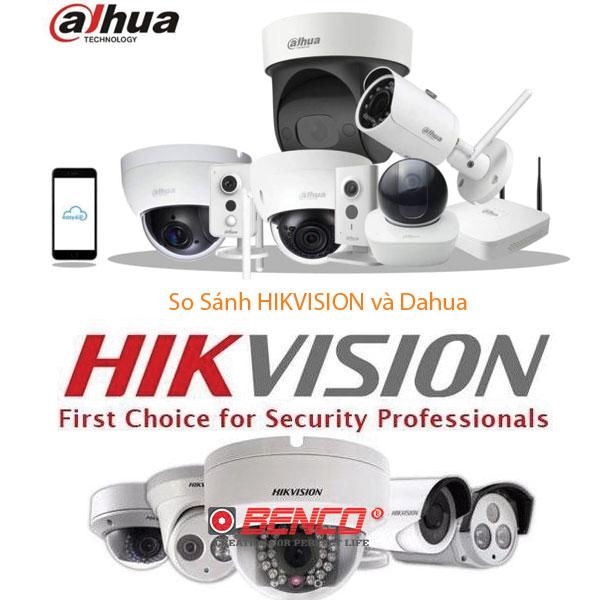 hikvision và dahua