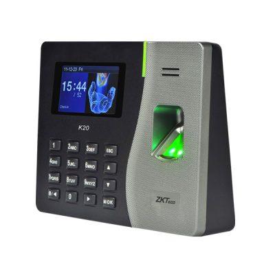 Máy chấm công vân tay và thẻ ZKTeco K20
