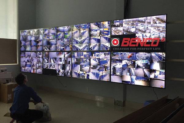 Hình ảnh thực tế lắp camera giám sát văn phòng