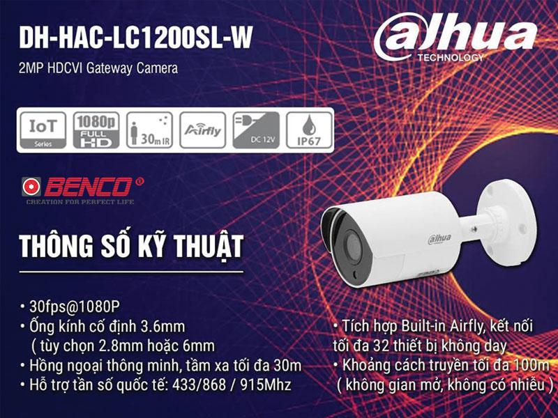 Camera thân nhìn đêm có màu DH-HAC-HFW1230SLP
