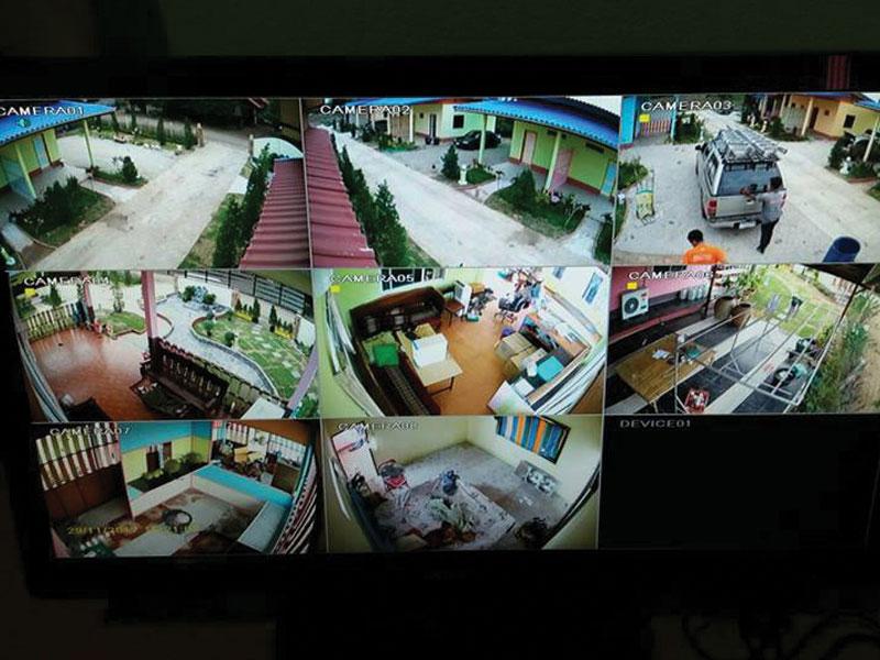 ảnh thực tế lắp đặt camera giám sát