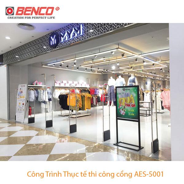 Công trình thực tế cổng AES5001