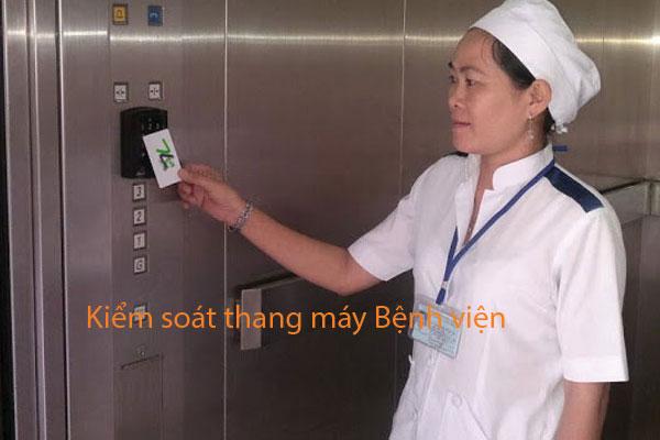 Công trình kiểm soát thang máy tại Bệnh Viện