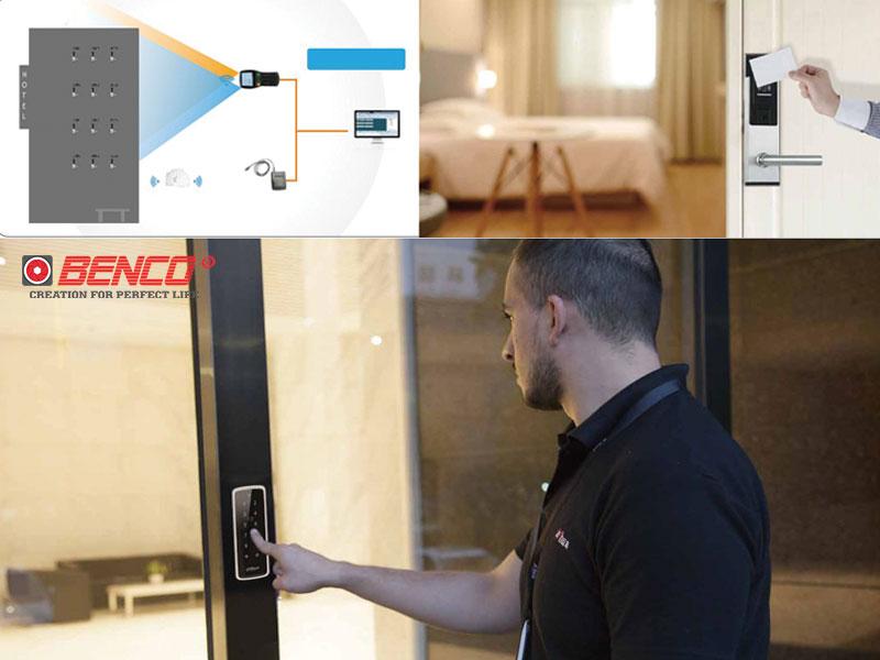 Hệ thống khóa thẻ từ khách sạn kết hợp với camera