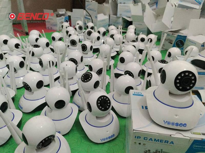 Camera wifi Yoosee robot 3 Râu