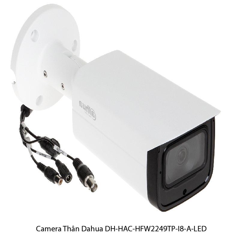 Camera Thân DahuaDH-HAC-HFW2249TP-I8-A-LED