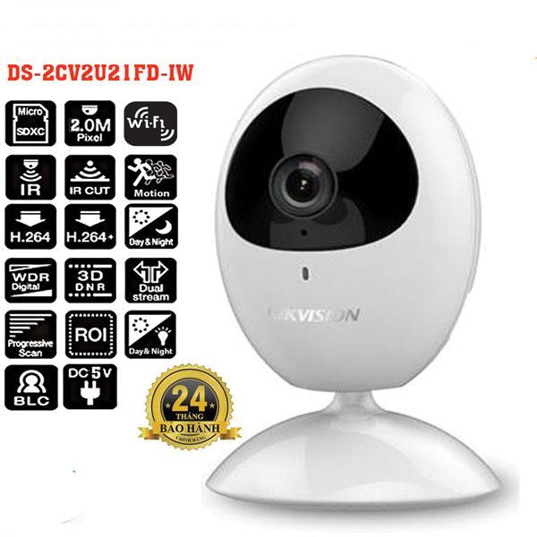 Camera wifi Cube HikvisionDS-2CV2U21FD-IW