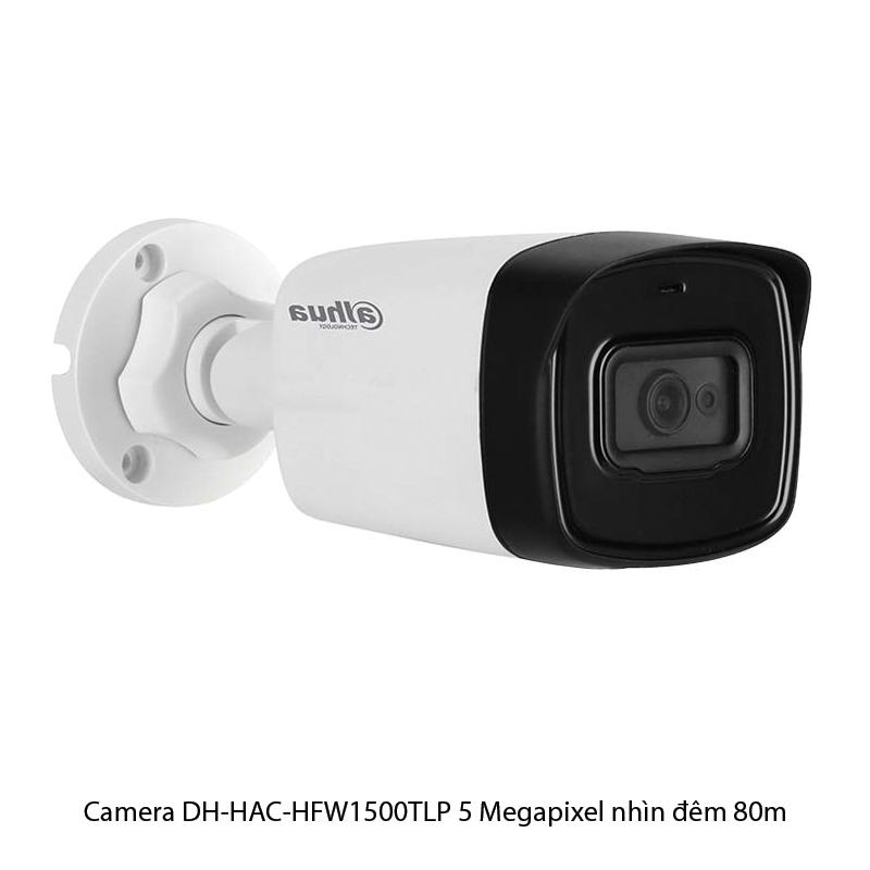 Camera DH-HAC-HFW1500TLP 5 Megapixel nhìn đêm 80m