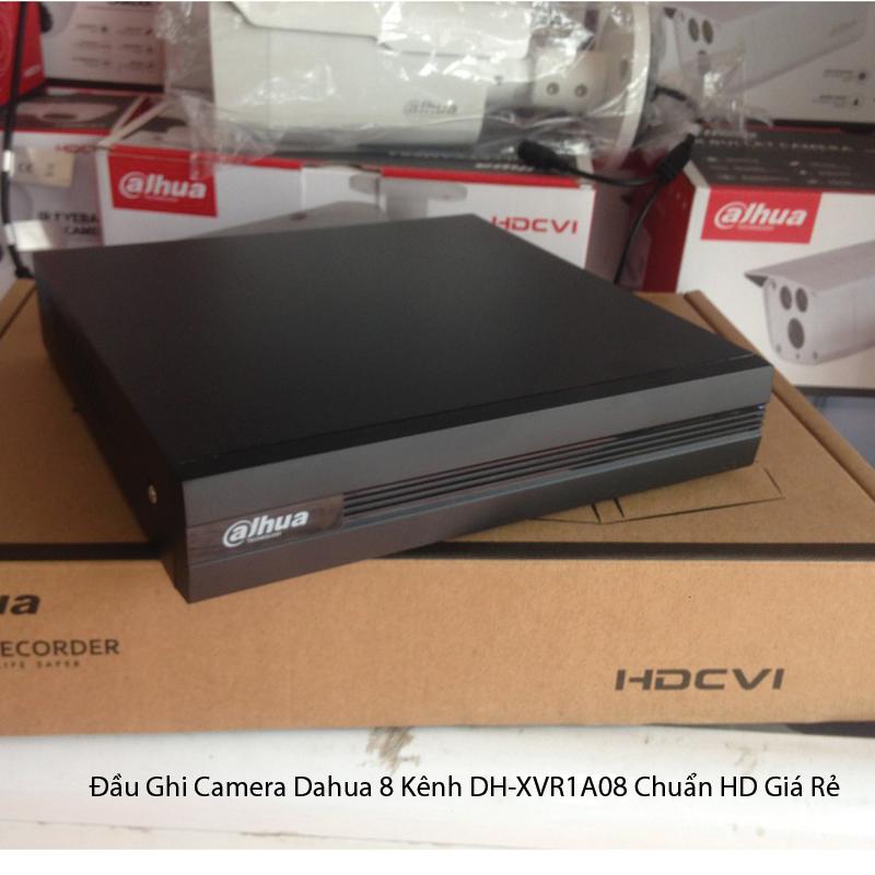 Đầu Ghi Camera Dahua 8 Kênh DH-XVR1A08 Chuẩn HD Giá Rẻ