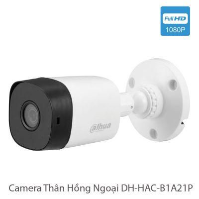 Camera Thân Hồng Ngoại DH-HAC-B1A21P Dahua