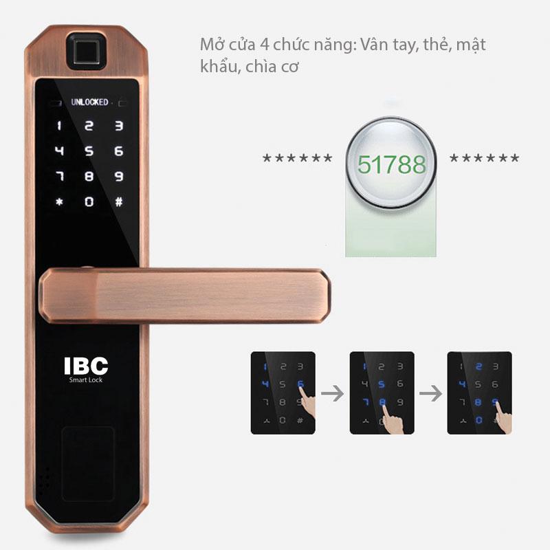 Bàn phím cảm ứng với mật khẩu ảo