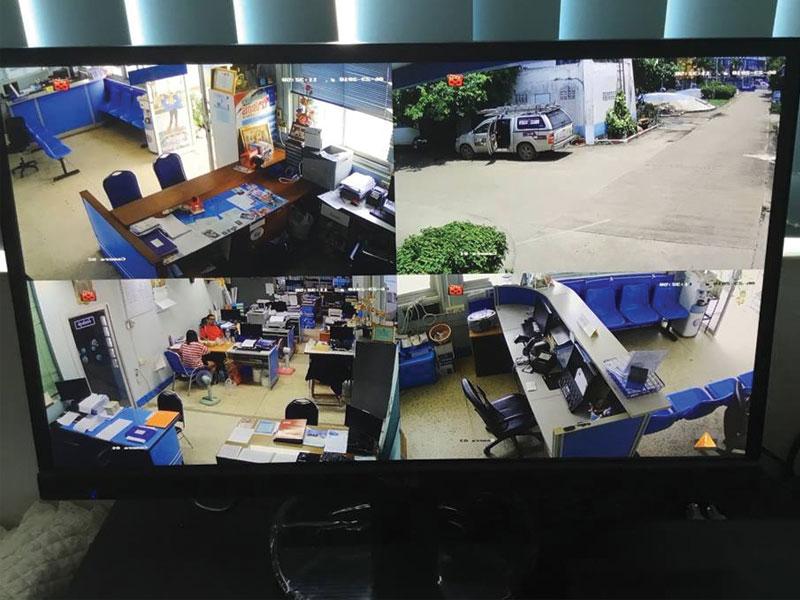 Công trình thực tế lắp đặt camera trọn gói