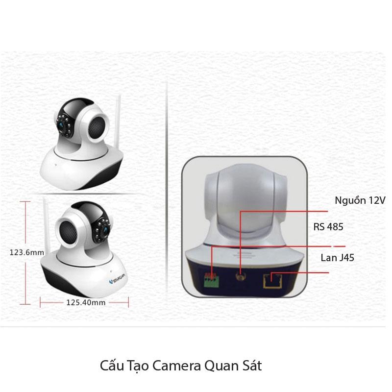 Hệ thống camera quan sát gồm những gì?