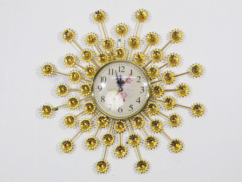 Đồng hồ treo tường cúc vàng