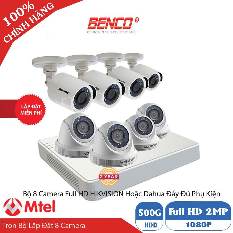 Trọn Bộ 8 Mắt Camera