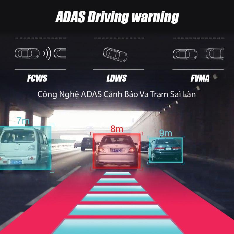 Cảnh báo va chạm sai lan ADAS