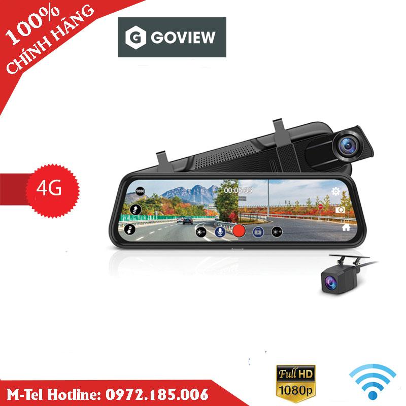 Camera Hành Trình Gương 10 Inch 4G Goview GV-100G