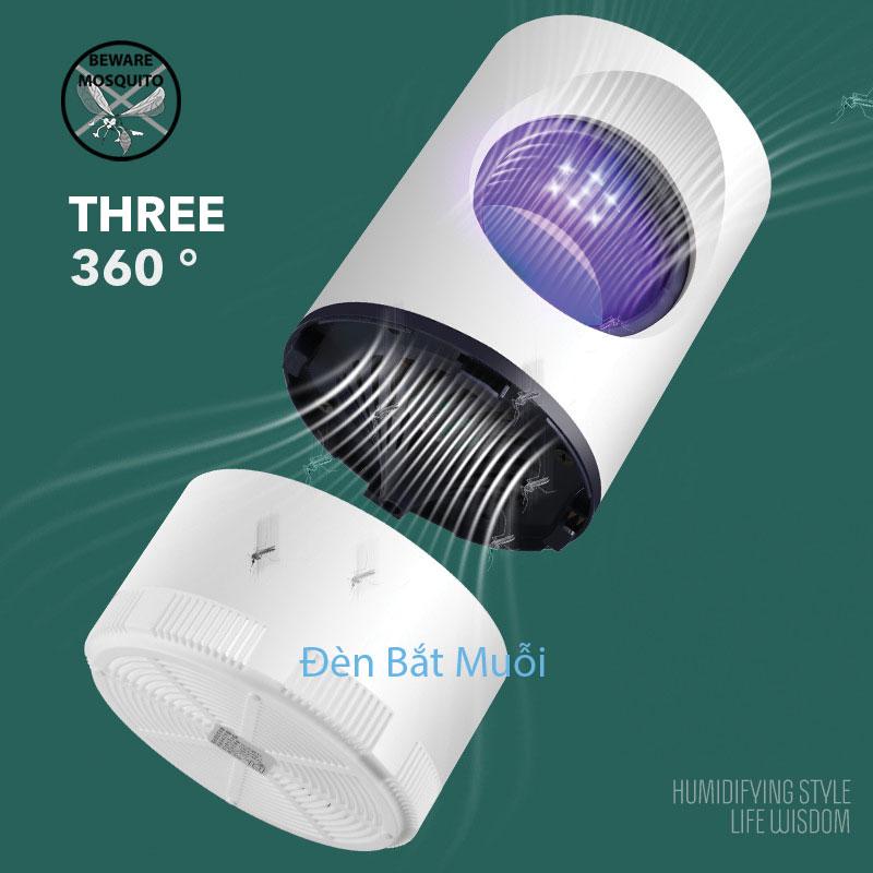 Nguyên lý hoạt động máy đèn bắt muỗi