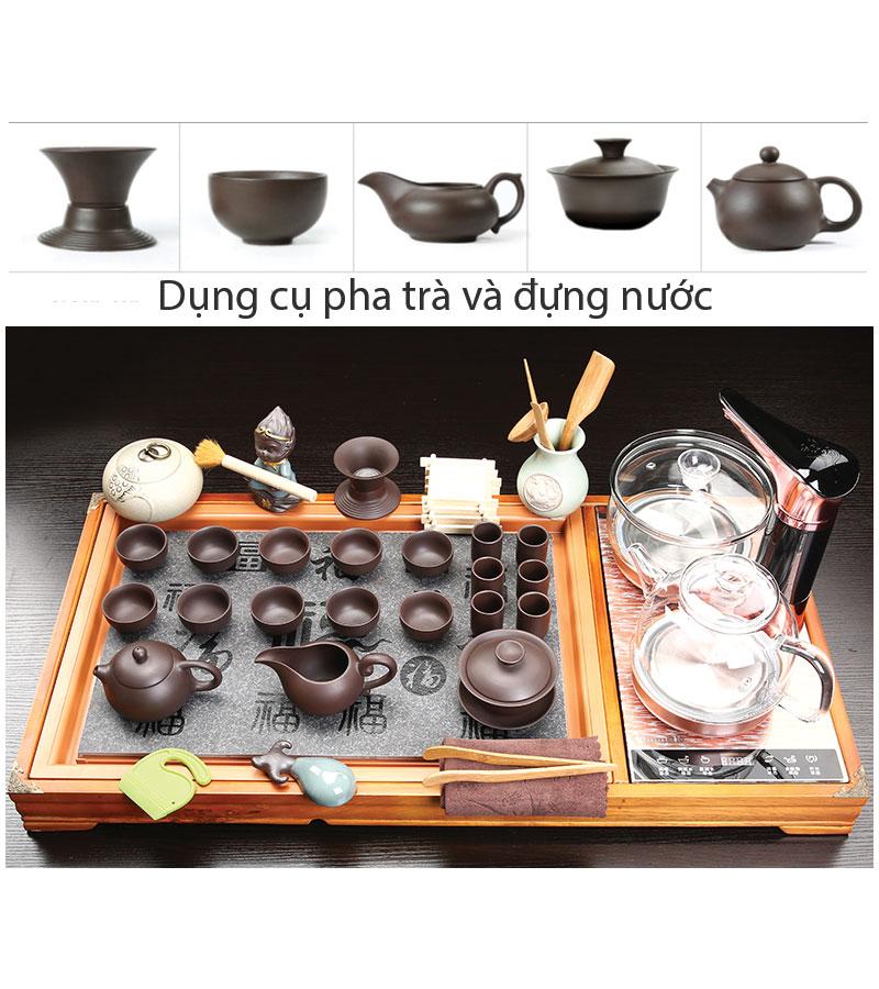 Dụng cụ để pha trà và đựng nước pha trà