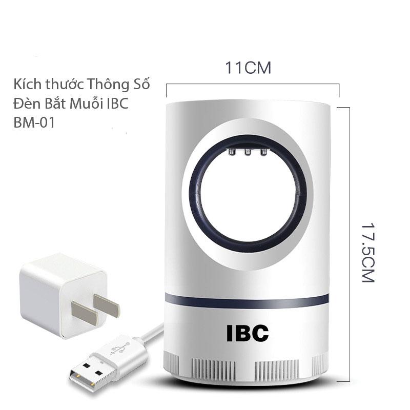 Thông số kỹ thuật Đèn Bắt Muối IBC BM-01