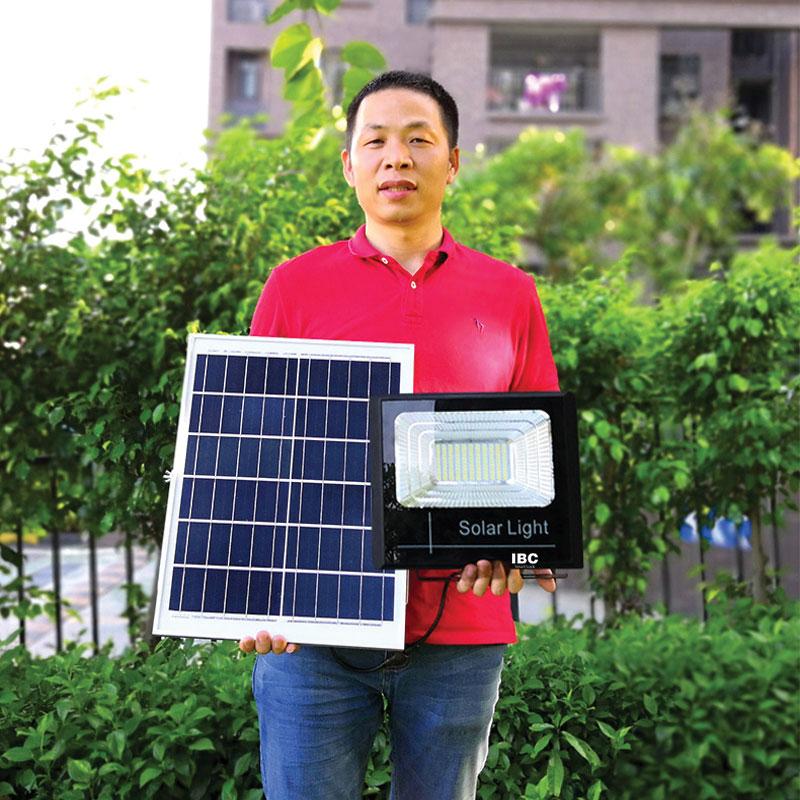Thông số kỹ thuật đèn led năng lượng mặt trời IBC-40w