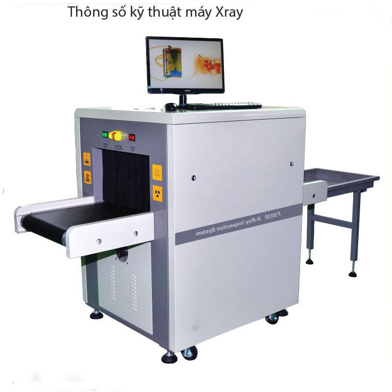 Thông số kỹ thuật thiết bị máy soi hành lý xray