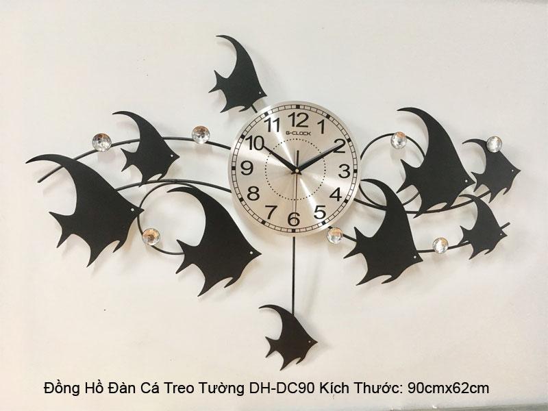 Thông số kỹ thuật đồng hồ đàn cá