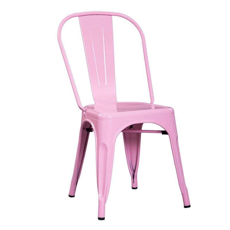 ghế sơn màu hồng