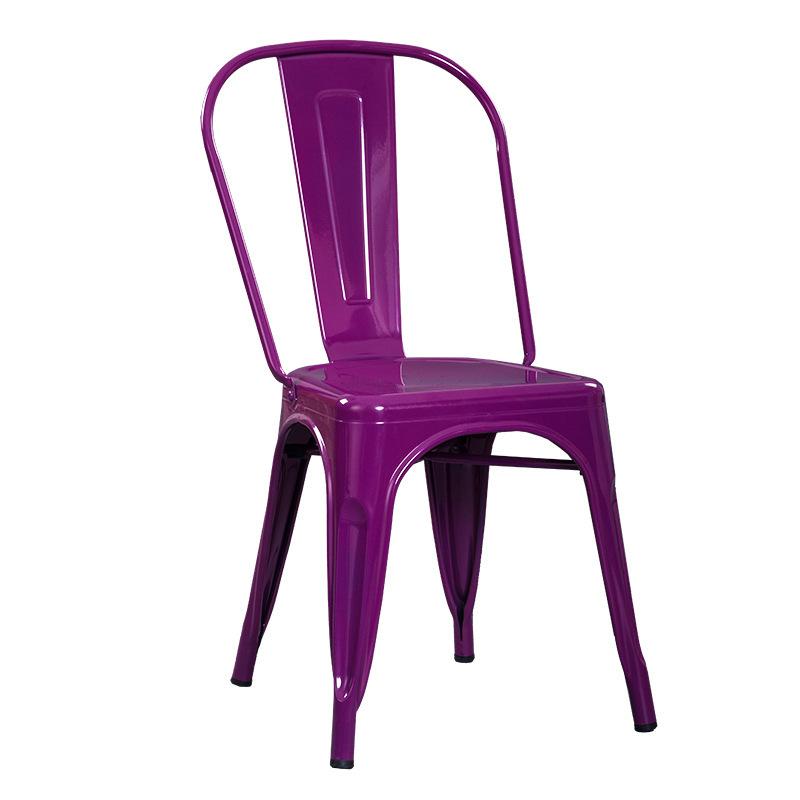 Ghế sơn tĩnh điện màu tím